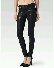 Paige Jeans 26 🌸 NWT $199.00  Black Verdugo ULTRA SKINNY Impressionism