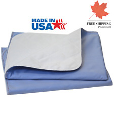 Big Size Washable Bed Pad XXL Incontinence Underpad - 36 X 72 - Mattress Prot...