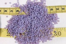 9/0 Vintage French Milky Violet # 1 Glass Seed Beads Crafts Jewelry Making/1oz