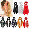 Hair Accessories Hair Bow Ties Ponytail Scarf Floral Bow Scrunchie Hair Rope