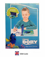 13 Pcs FINDING DORY Kids MAGIC MIRROR DRAWING SET Birthday Toy Stationary Gift