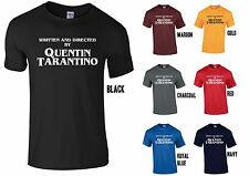 Written & Directed by Quentin Tarantino T-Shirt - WHITE Print - Pulp Fiction