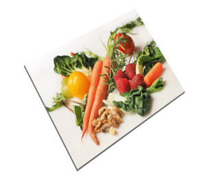 Worktop Protector Toughened Glass Cutting Chopping Board Surface Saver Cook 47