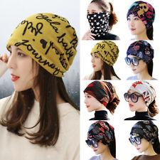 Women Elastic Turban Head Wraps Headband Boho Sports Yoga Hair Band Bandana