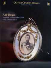 CATALOGUE VENTE ART RUSSE - FABERGE