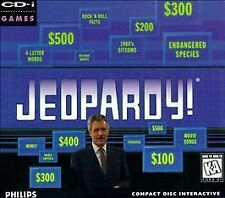NEW!! Jeopardy! Philips CD-i, CDI Games