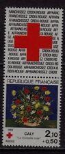 n°8) CARNET  CROIX ROUGE Neuf**MNH 1984 n°2345 + Vignette LA CORBEILLE ROSE