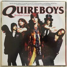 """QUIREBOYS - BROTHER LOUIE - 1993 UK - RED VINYL, 12"""" LIMITED EDITION SINGLE"""