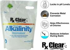 Rx Clear Swimming Pool Alkalinity Up Increaser Plus Sodium Bicarbonate - 10 lbs