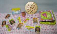 Barbie Wee 3 Three Friends Doll Acces~Dream Sleepover Pizza Card Game Cardboard