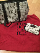 Authentic Preowned CAROLINA HERRERA Wallet & Handbag!! Great condition!!! AMSTAM