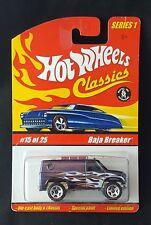 Hot Wheels Classics Series 1  Baja Breaker Ford Van Port Hole