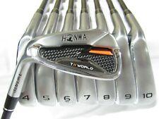 New LH HONMA TW747P Iron Set 4-11 Vizard 85g Regular Flex Graphite Shafts