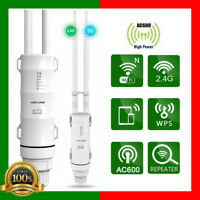 Wavlink AC600 28dbm Outdoor Weatherproof Wireless WiFi Router / AP Repeater