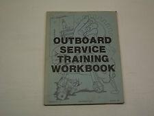 Mercury/Mariner 80's Dealer Issued Outboard Service Training Workbook