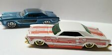 Hot Wheels Holiday Hot Rods '64 Buick Rivera White w/ Red + '64 Riviera Blue Lot