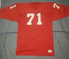 1970s Football Game Used Sand Knit Jersey St Louis Cardinals colors