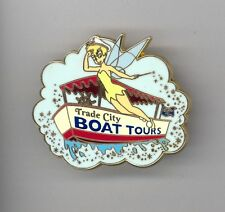 Disney Trade City Boat Tours Fairy Tinker Bell Saluting Captain Event PWP Pin