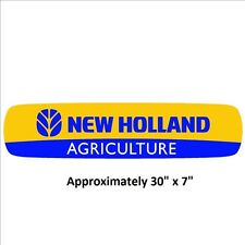 "New Holland 30"" sticker decal Agriculture Tractor IMCA NHRA USRA"