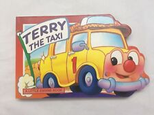 TERRY THE TAXI Board Book 1996 Grandreams Limited China