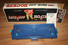 VINTAGE TABLE TOP ICE HOCKEY GAME BY EMENEE-  ORIGINAL BOX COMPLETE - LOOK!