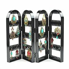 Black Screen Stud Earring Jewellery Display Stand Unit Holder Storage Organiser