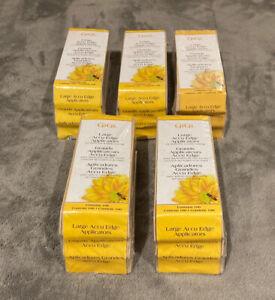 200 2 Pack GiGi Large Accu Edge Applicators, Waxing Bundle Spatulas - New Sealed