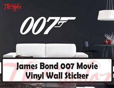 James Bond 007 Custom Movie Wall Vinyl Sticker
