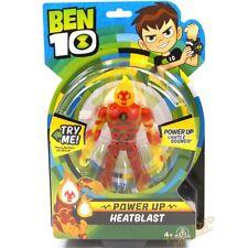 Ben 10 Deluxe Power Up Figures - Heatblast UK Stock BEN01210 4 Years+ NEW