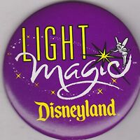 "VINTAGE 3"" PINBACK #35- 157 - DISNEY - DISNEYLAND - LIGHT MAGIC - TINKERBELL"