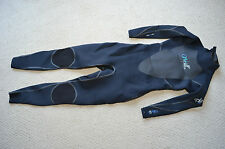 O'Neill Women's D'Lux 3Q Zip 3/2 Full Wetsuit (Black, Size 8) New Cold Water