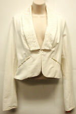 *NWT Stunning Free People Ivory Bolero (Short) Jacket sz Medium-Very Nice!