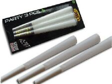 "3x 5.5"" King Size Pre Rolled Kingskins Tobacco Cones Rizla Smoking Papers Skin"