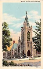 Kentucky postcard Hopkinsville, Baptist Church