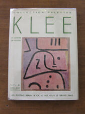 PAUL KLEE collection: palettes French - 1950 - 1st/1st  HCDJ - color plates
