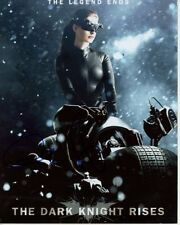 Anne Hathaway Signed Autographed 8x10 The Dark Knight Rises Catwoman Photograph