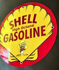 Shell Gas Oil gasoline sign #3