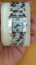 Patek Philippe Twenty-4 4910/49G All Diamond $97,800.00 18k white gold watch.