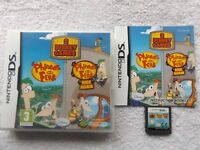 PHINEAS AND FERB 2 DISNEY GAME PACK NINTENDO DS FAST POST ( + ride again game )