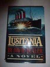 LUSITANIA, Butler, David, 1st Edition 2nd Printing, 1982 B101