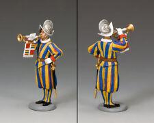 King and Country cerimoniale Guardia Svizzera Musicista/Trombettista CE20 CE020