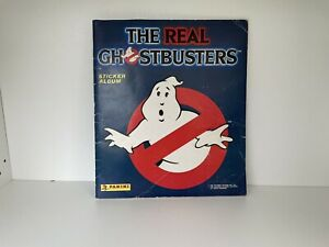 The Real Ghostbusters Sticker Album Book, Panini, 1988 Vintage, Retro, 100% Done
