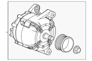 Genuine GM 2012-2018 Chevrolet Sonic 1.8L Alternator Generator 13595628