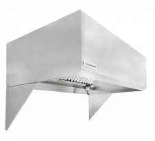 "HoodMart 5' x 48"" Type 1 Commercial Kitchen Exhaust Hood - Restaurant Hood"