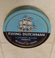 Vintage Pipe Tobacco Collectable Tin Flying Dutchman Royal factories Holland