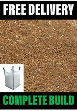 Sharp/Grit Sand Bulk Bag 800kg Min - FREE Delivery