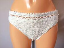 O'Neill Indah Crochet hipster low rise Bikini Bottom birch UK 8 (L30/14)