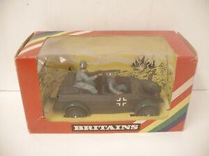 Vintage Britains VW Kubelwagen # 9783 German Scout Car Mint W/ Box # 2