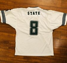 � Michigan State Spartans #8 Vintage Football Colosseum Jersey Mens - L