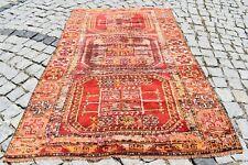 Fabulous Antique 3.4 x 5.5 Feet Collector's Piece Turkish Distressed Sivas Rug